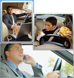 how to avoid distractions while driving