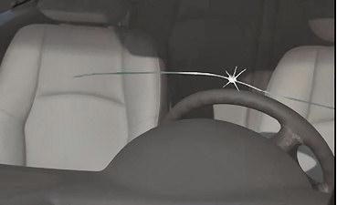Cracked Windshield Rental Car